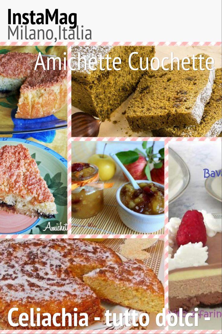 Celiachia raccolta ricette dolci