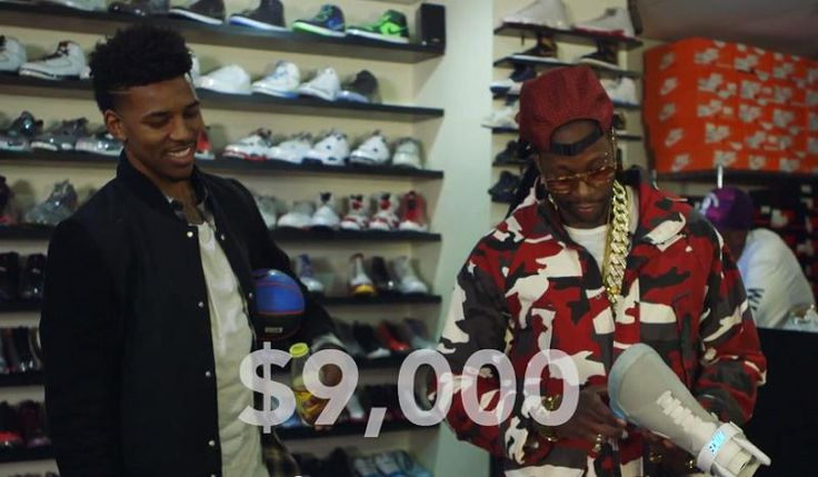 Video: 2 Chainz & Swaggy P Shop for Rare Sneakers