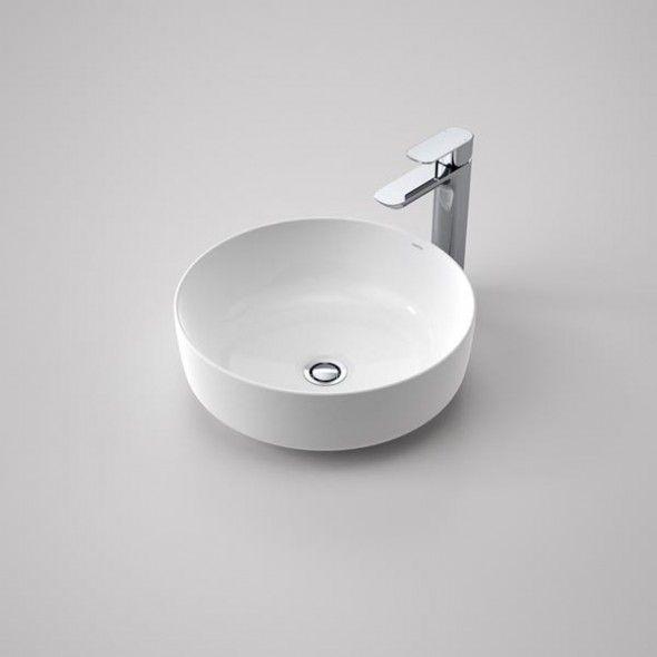 Caroma Artisan Above Counter Basin Round 405mm Vanity Basin Best Bathroom Designs Sink