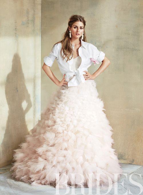 Горячий тренд: двухкомпонентный свадебный наряд-21