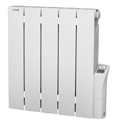 Acova Cotona LCD Radiateur électrique aluminium inertie fluide 750 W: Price:220Radiateur électrique aluminium à inertie fluide Programmes…