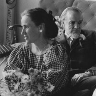Edith and Francis Schaeffer - just the loveliest woman, inside and out.