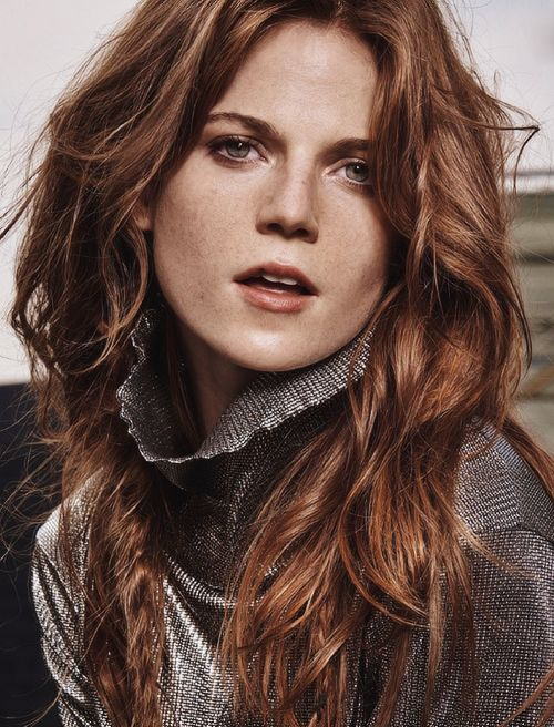 Rose Leslie - InStyle UK - November 2014 Photographed by Thanassis Krikis
