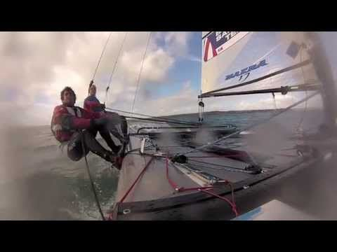 Sparetime moth sailing - YouTube