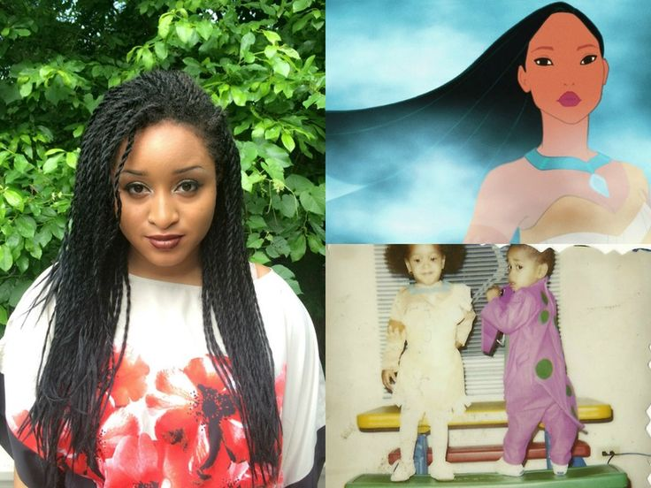 I Recreated Disney Princess Hairstyles With Senegalese Twists, Because Girls With Braids Can Have Some Fairytale Fun Too