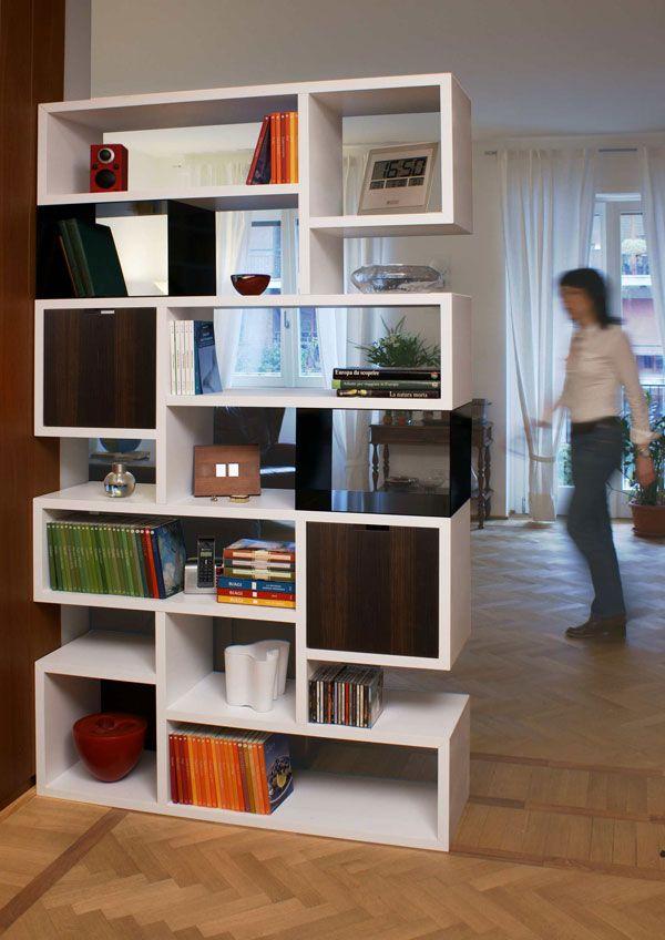 Oltre 25 fantastiche idee su divisorio a libreria su for Piani casa artigiano canada