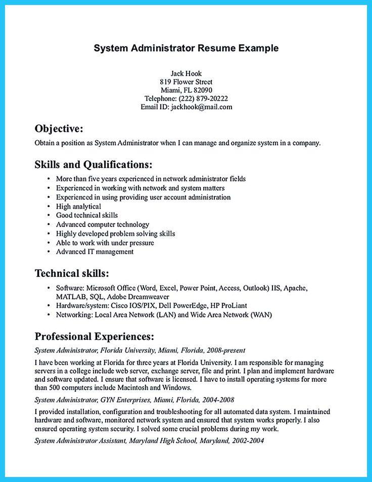 594 best resume samples images on pinterest