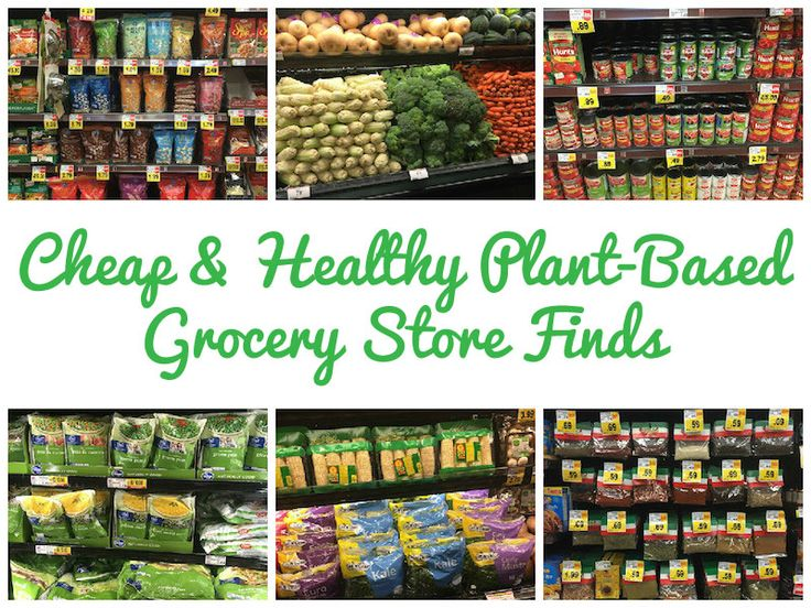 Join Me on a Trip Through a Grocery Store to Locate CHEAP Healthy Plant-Based Foods