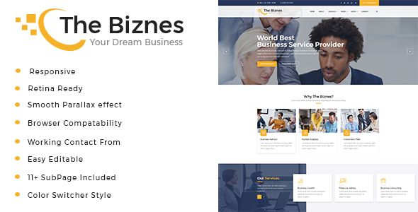 The Business - #Business Consulting and #Professional Services HTML Template - #Business Corporate