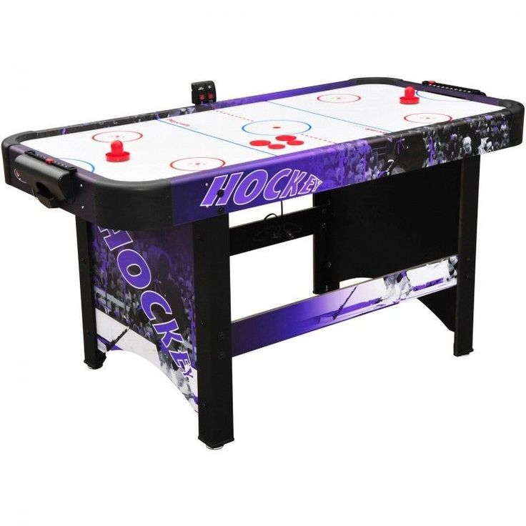 Delicieux Air Hockey Table Shoot Out Electronic Scorer And Manual Slide Scoring Option