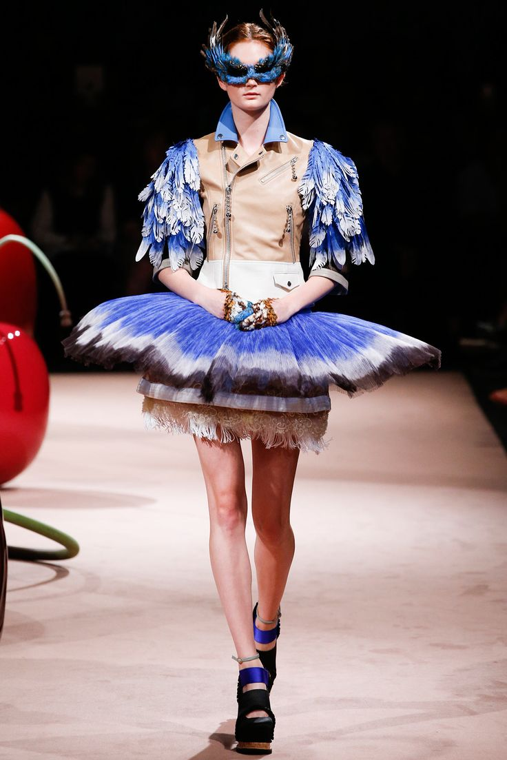 Undercover Spring 2015 Ready-to-Wear - Collection - Gallery - Look 31 - Style.com // Empress of Style