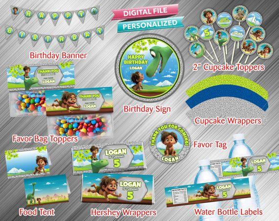 Good Dinosaur Printable Party Package by kidspartydiy on Etsy