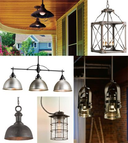 The Industrial Retro Vintage Style Is Making Its Mark Edison Bulbs Are Being Emphasized In Pendant Platform
