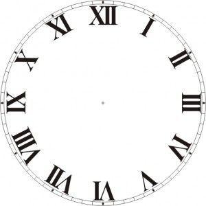 reloj 5 pa las 12 en numero romano - Buscar con Google