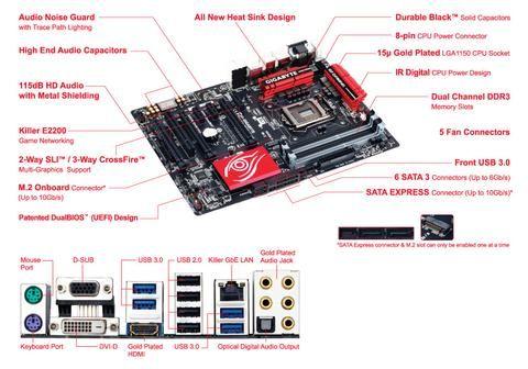 Intel Z97 ATX Mothrbrd Gaming5 - Gigabyte Technology - GA-Z97X-Gaming5 - Humble Brothers  - 2
