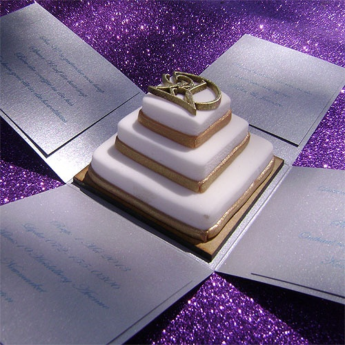 Ref Cake Boss ( we can do any colour) www.weddingcards.co.za