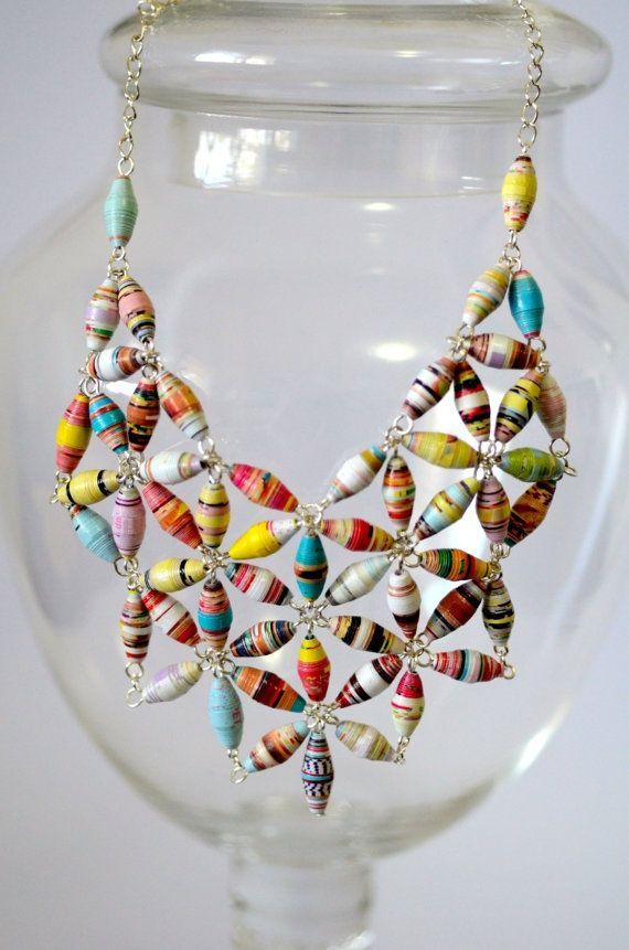 Fun Paper Bead Crafts