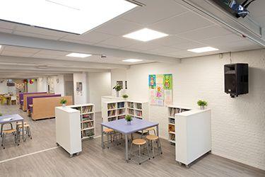 Flexibel ingericht leerplein voor basisschool Octa | Heutink.nl