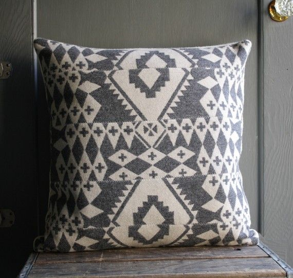 Awesome handmade pillow.