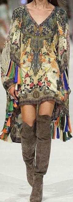 Gorgeous.  For the BEST in Boho fashion, modern hippie style, carefree gypsy allure, FOLLOW now: http://www.pinterest.com/happygolicky/the-best-boho-chic-fashion-bohemian-jewelry-boho-w/