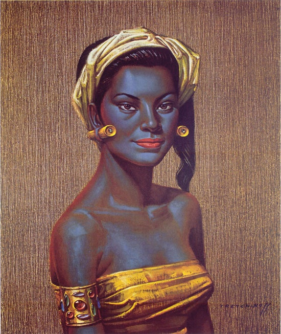 Vladimir Tretchikoff- already on my wall but still need to find the perfect frame
