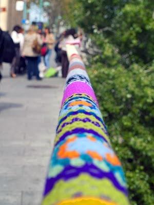 Urban Knitting Zaragoza _Espagne