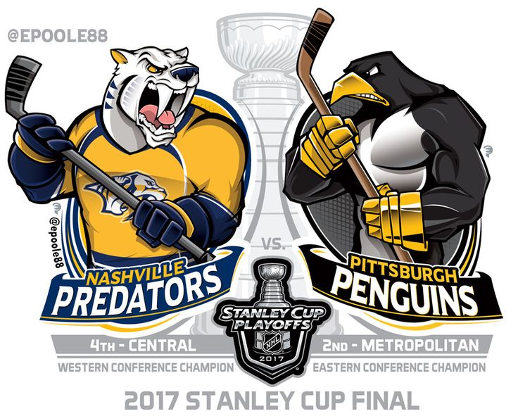 The 124th NHL Stanley Cup: Pittsburgh v. Nashville