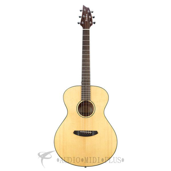 Breedlove Discovery Concert Left Hand 6 String Acoustic Guitar - DSCN01LSSMA - 875934006837