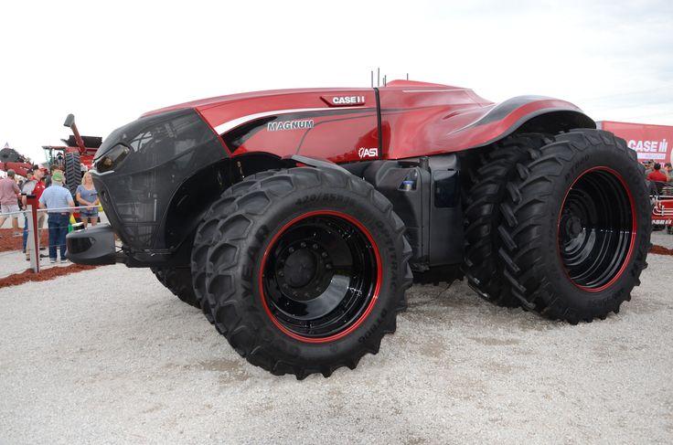 La era de los tractores robot y la agricultura automatizada @alvarodabril