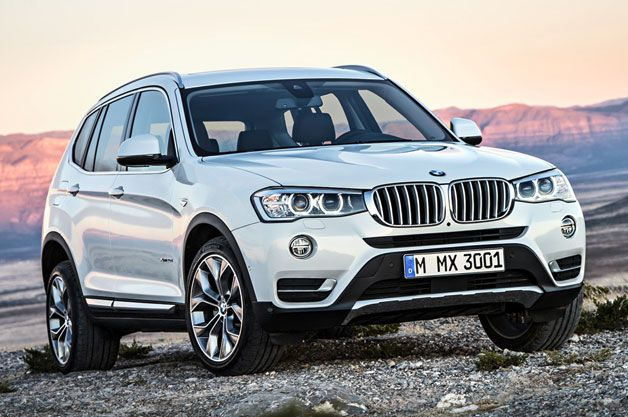 Official: 2015 BMW X3 arrives with tweaked styling, diesel option