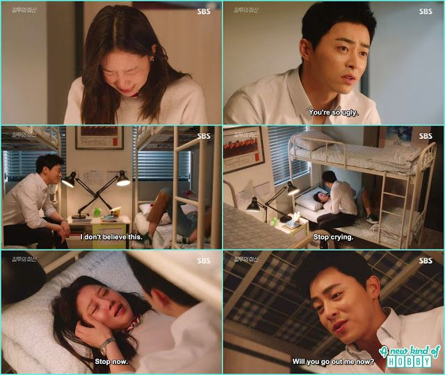 na ri started crying and hwa shin concole her by saying will you go out with me - Jealousy Incarnate - Episode 19 (Eng sub)