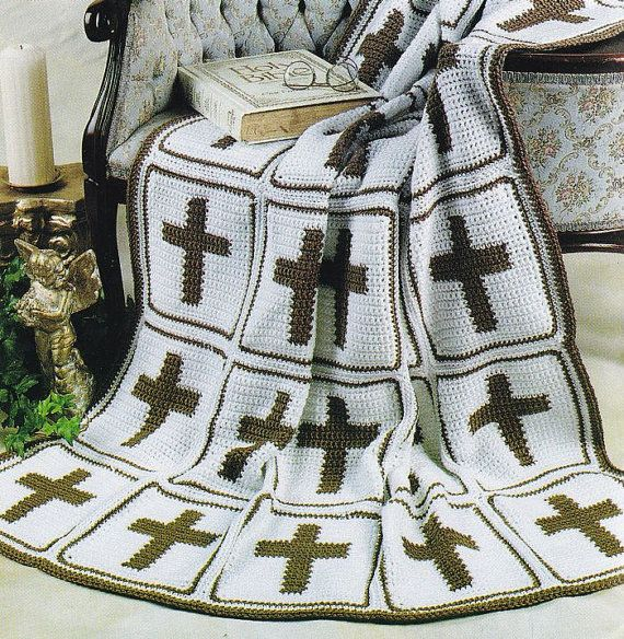 Crochet Cross Afghan Pattern Free : 1000+ images about Crochet Afghans on Pinterest Afghans ...