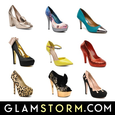 Glamstorm prezentuje pierwszą część przeglądu najciekawszych butów w naszej przymierzalni. Oto najbardziej GLAM czółenka! / Glamstorm presents: the most GLAM shoes (part I). This week: the best party pumps!     http://glamstorm.com/pl/przymierzalnia/ubrania/c/cz%C3%B3%C5%82enka#cat_56