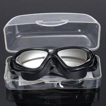 Adjustable Eye Protect Adult Non-Fogging Coating UV Swimming Goggles Glasses at Banggood