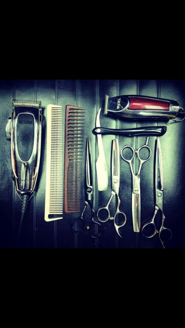 Tools of some barbers