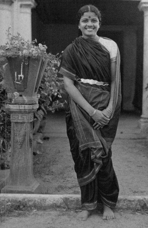 "M.S.Subbulakshmi---The queen of carnatic music---the ""madisaar"", the ""oddiyaanam""....and of course the brilliant smile"