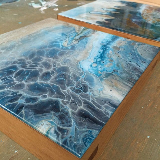 Resin Painting Techniques : Best images about abstract pouring on pinterest