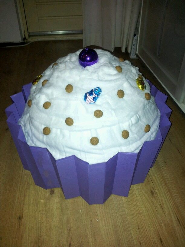 Sint surprise cupcake