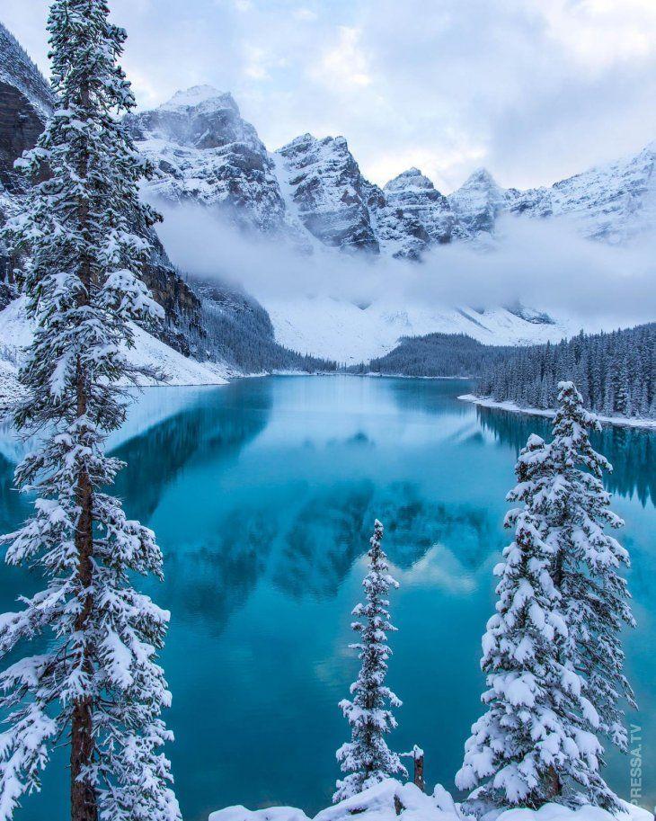 картинки на аву зимние красивые природа помощи фильтров легко