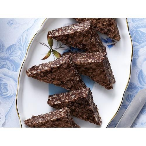 Chocolate crackle slice recipe - By Australian Women's Weekly, A new version of a old favourite, this chocolate crackle slice updates the classic chocolate crackle. Cut into bars for a crunchy treat if you prefer.