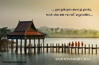 Pojdi po svoji poti. www.Duhovnost.eu