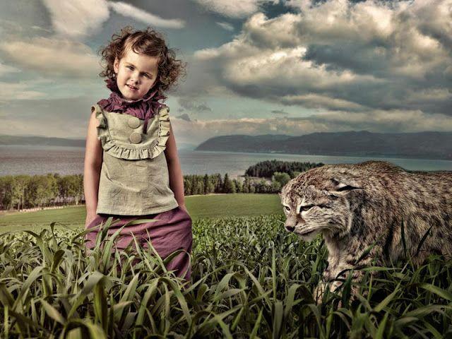 ALALOSHA: VOGUE ENFANTS: Детская фотография от Jens E. Haugen