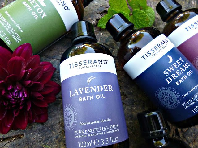 Bath time Bliss with Tisserand Wellbeing bath oils