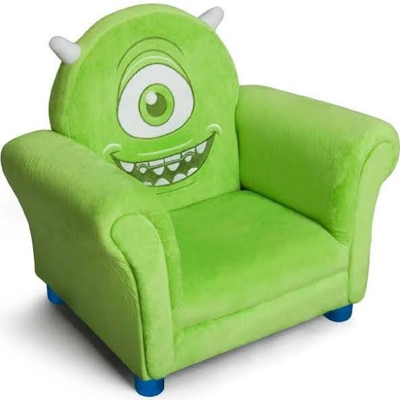 Delta Children Monsters University Upholstered Chair
