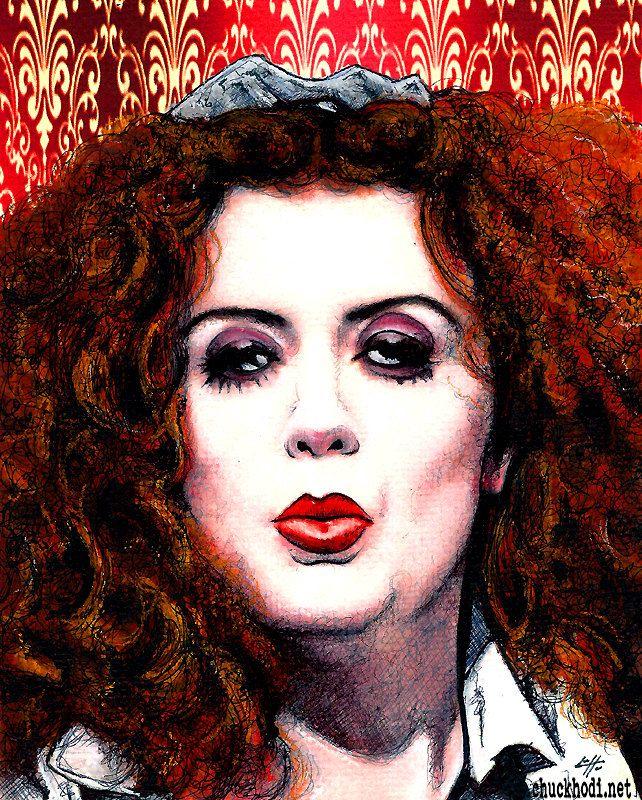 Magenta Patricia Quinn Rocky Horror by chuckhodi
