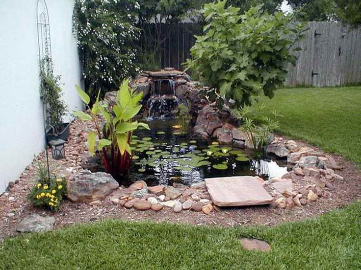 276 best Water features images on Pinterest Garden ideas Pond