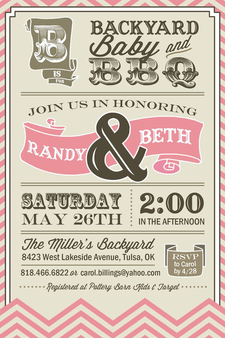 printable couples bbq baby shower invitation by urbanfrontiers grand