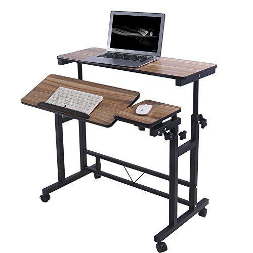 Adjustable Rolling Computer Laptop Desk Table Laptop Stand Poarmeey (black) Review https://bestofficedeskchairsreviews.info/adjustable-rolling-computer-laptop-desk-table-laptop-stand-poarmeey-black-review/