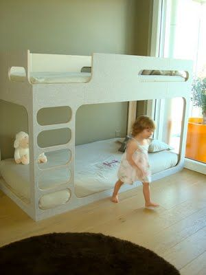 Little one's room Bunk Bed ideas-pinned by www.auntbucky.com #baby #nursery #kids #decor #auntbucky #bunkbeds