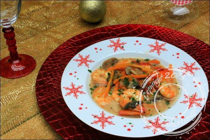 Il y a quelques jours, je me suis laissée convaincre par une blanquette de crevettes proposée sur le blog Chapeau melon. Une délicieuse blanquette qui change puisqu'habituellement, ce plat est une …